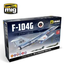 F-104 G STARFIGHTER. Escala 1:48. Marca Ammo Mig Jimenez. Ref: AMIG8504.