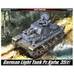 GERMAN LIGHT TANK Pz.Kpfw.. Escala 1:35. Marca Academy. Ref: 13280