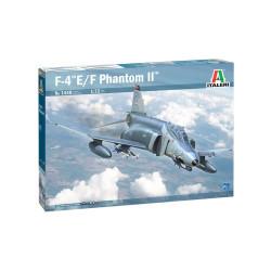 F-4E/F Phantom II. Escala 1:72. Marca Italeri. Ref: 1448.