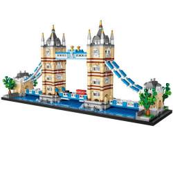 Tower Bridge Loz 1455 piezas. Kit construcción blocks. Marca Loz. Ref: 1026.