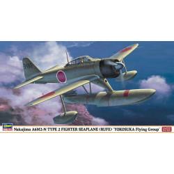 Nakajima a6m2-n type 2 fighter edición limitada. Escala 1:48. Marca Hasegawa. Ref: 07325.