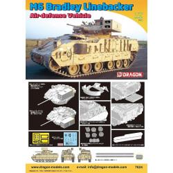 M6 Bradley Linebacker, Air-Defense Vehicle. Escala 1:72. Marca Dragon. Ref: 7624.