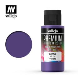 Violeta. Premium Airbrush Color. Bote 60 ml. Marca Vallejo. Ref: 62008.