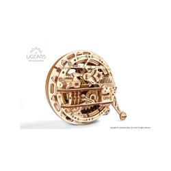 Monorueda ( Monowheel ), madera contrachapada, Kit de montaje, Escala 1:12. Marca Ugears, Ref: 70080.