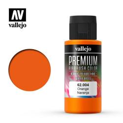 Naranja. Premium Airbrush Color. Bote 60 ml. Marca Vallejo. Ref: 62004.