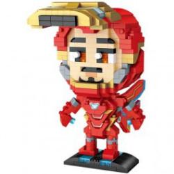 Iron Man Loz 620 piezas. Kit construcción blocks. Marca Loz. Ref: 409221.
