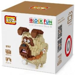 Personaje Loz 640 piezas. Kit construction blocks. Marca Loz. Ref: 409787.