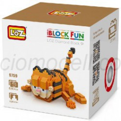 Personaje Loz 680 piezas. Kit construction blocks. Marca Loz. Ref: 409759.