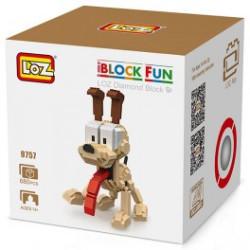 Odie Loz 680 piezas. Kit construction blocks. Marca Loz. Ref: 409757.