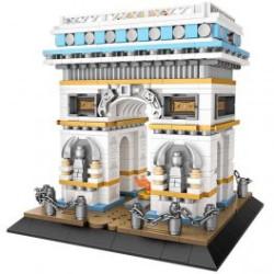 Arco del Triunfo Loz 1028 piezas. Kit construction blocks. Marca Loz. Ref: 401028.