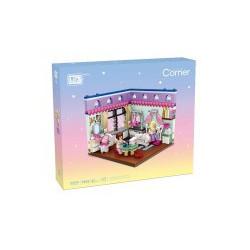 Mini Corner Bedroom  Loz 471 piezas. Kit construction blocks. Marca Loz. Ref: 401902.