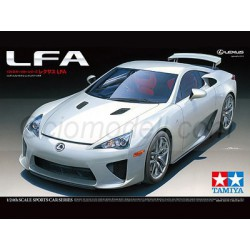 Sports Car Lexus LFA. Escala 1:24. Marca Tamiya. Ref: 24319.