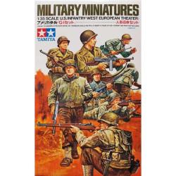 Infantería USA en Europa. WWII. Escala 1:35. Marca Tamiya. Ref: 35048.