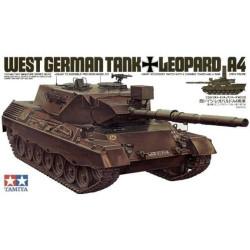 German Leopard A4. Escala 1:35. Marca Tamiya. Ref: 35112.