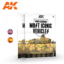 WWII GERMAN MOST ICONIC SS VEHICLES. VOLUME 1. Marca AK Interactive. Ref: AK515.