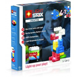 Light STAX® Creative 50 2V. Compatible con LEGO®. Kit construction blocks. Marca Stax System. Ref: S-12012.