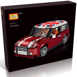 Car Model, Mini Cooper, Loz 492 piezas. Kit construction blocks. Marca Loz. Ref: 1111.