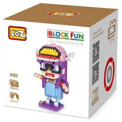 Personaje Loz 700 piezas. Kit construction blocks. Marca Loz. Ref: 9752.