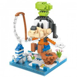 Personaje Goofy Loz 540 piezas. Kit construction blocks. Marca Loz. Ref: 9639.