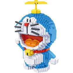 Personaje Doreamon Loz 1570 piezas. Kit construction blocks. Marca Loz. Ref: 9031.