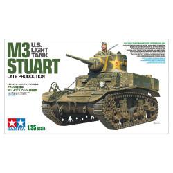 U.S. Light Tank M3 Stuart Late Production. Escala 1:35. Marca Tamiya. Ref: 35360.