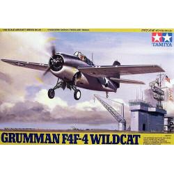 Avión Grumman F4F-4 Wildcatt. Escala 1:48. Marca Tamiya. Ref: 61034.