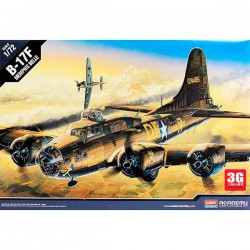 "Avión B-17F "" Memphis Belle "". Escala 1:72. Marca Academy. Ref: 12495."