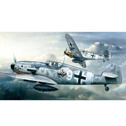 Avión Messerschmitt BF109G-6. Escala 1:72. Marca Academy. Ref: 12467.