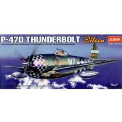 Avión P-47D Eileen. Escala 1:72. Marca Academy. Ref: 12474.
