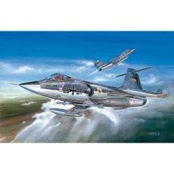 Avión F-104G Starfighter. Escala 1:72. Marca Academy. Ref: 12443.