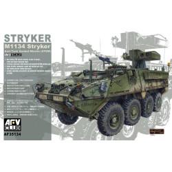 M1134 STRYKER ATGM ANTI TANK GUIDED MISSILE. Escala 1:35. Marca AFV Club. Ref: AF35134.
