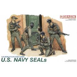 U.S. Navy Seals. Escala 1:35. Marca Dragon. Ref: 3017.