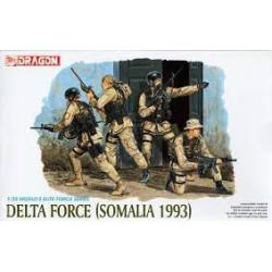 Delta Force (Somalia 1993). Escala 1:35. Marca Dragon. Ref: 3022.