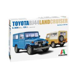 Toyota BJ44 Land Cruiser. Escala 1:24. Marca Italeri. Ref: 3630.