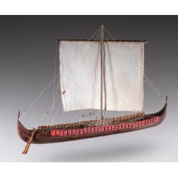Viking longship. Escala 1:72. Marca Dusek. Ref: D014.