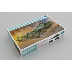Russian Armored Mine-Clearing Vehicle BMR-3. Escala 1:35. Marca Trumpeter. Ref: 09552.