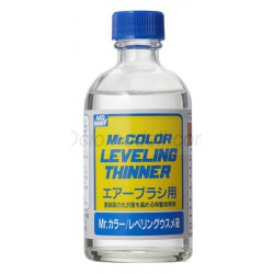 LEVELING THINNER 110ml. Disolvente para acrílicos. Marca MR.Hobby. Ref: T106.