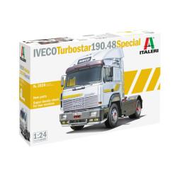 Cabeza de camión Iveco Turbostar 190.48 Special. Escala 1:24. Marca Italeri. Ref: 3926