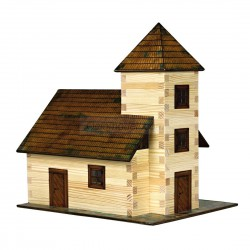 Iglesia. Madera de Pino. Marca Walachia. Ref: 1312.