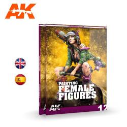 Técnicas de Pintar figuras Femeninas – LEARNING 13. Marca AK Interactive. Ref: AK521.