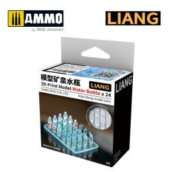 3D-Print Model Water Bottle x 24. Marca Liang. Ref: LIANG-0415.
