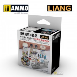 3D-print Model Civilian Supplies. Marca Liang. Ref: LIANG-0410.