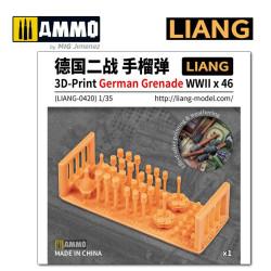 3D-Print German Grenade WWII x 46. Marca Liang. Ref: LIANG-0420.