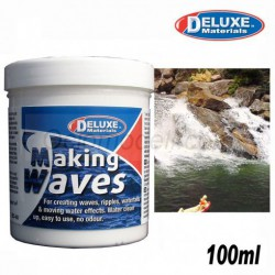 Making Waves, Agua en movimiento, 100ml. Marca Deluxe. Ref: BD39.