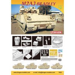 M2A3 Bradley. Escala 1:72. Marca Dragon. Ref: 7623.