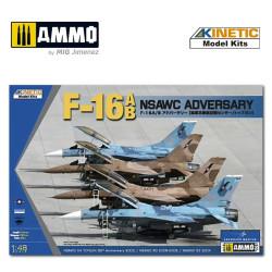 F-16A/B NSAWC Adversary. Escala 1:48. Marca Kinetic Model. Ref: 48004.