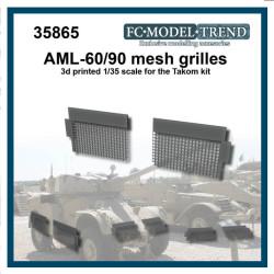 AML-60/90 rejillas. Escala 1:35. Marca FCmodeltrend. Ref: 35865.