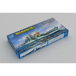 USS Alaska CB-1. Escala: 1:700. Marca: Trumpeter. Ref: 06738.