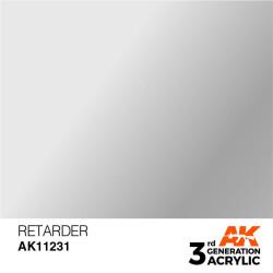 Acrílicos de 3rd, RETARDER -AUXILIARY . Bote 17 ml. Marca Ak-Interactive. Ref: Ak11231.