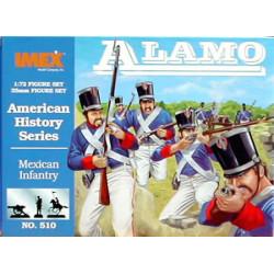 MEXICAN INFANTRY ALAMO. Escala 1:72. Marca Imex. Ref: IM510.